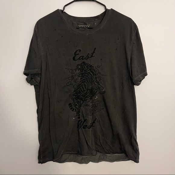 GUESS Distressed Shirt